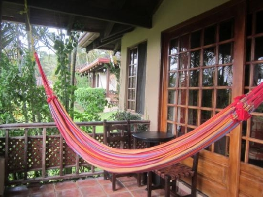 Poor relaxation at the Borinquen Mountain Resort in Costa Rica