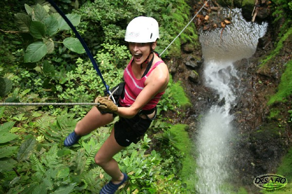 The rugged, mountainous terrain near the Arenal Volcano is perfect place for first-timers and experienced canyoneers