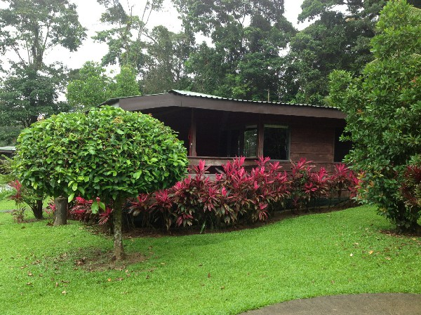 One of the private guest bungalows.
