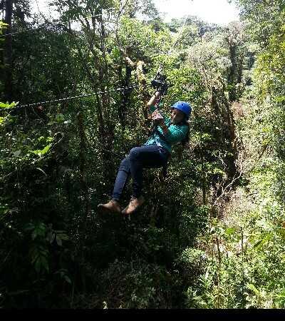 Take a fun ziplining tour in Costa Rica!