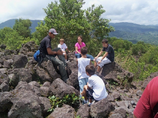 Learn about Costa Rican nature and history!