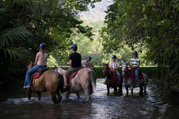 Horseback Riding in Costa Rica!