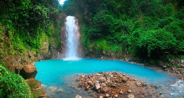 Visit Rio Celeste Waterfall with our Adventure Connection