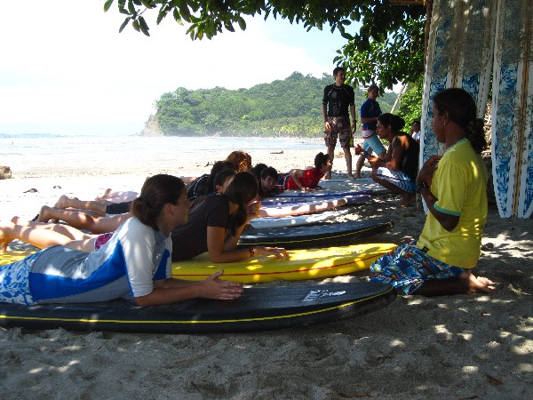 Surf Lessons in Montezuma, Costa Rica.