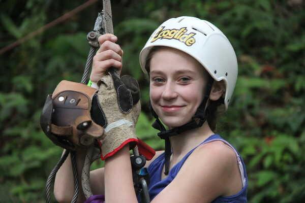 Ziplining in Arenal, Costa Rica