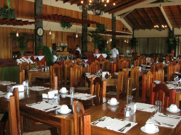 Just one of the elegant restaurants on property at El Establo