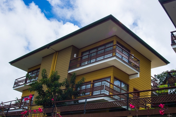 Amazing mountain views from your private balcony at Ficus Sunset Suites in Monteverde.
