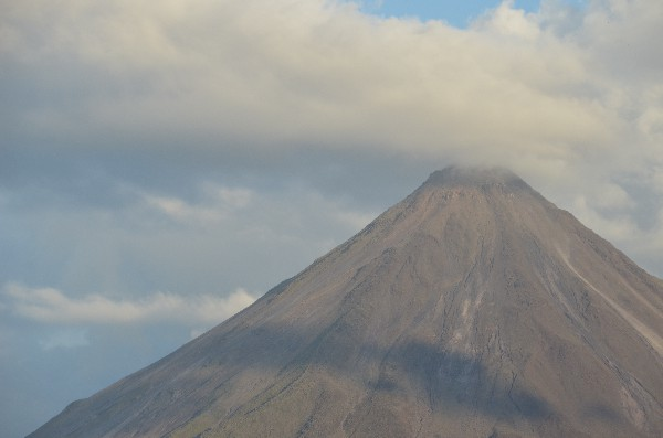 The Arenal Volcano located just outside of La Fortuna, Costa Rica.