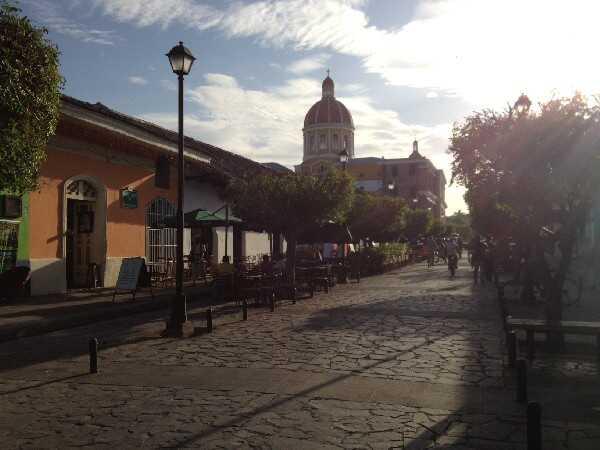 Downtown Granada, Nicaragua.