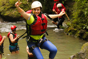 Coolest extreme adventure in Costa Rica is Gravity Falls.
