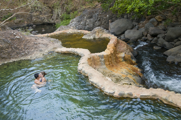 Hot Springs in Ricon de la Vieja
