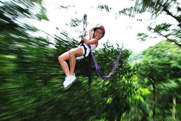 Ziplining near of Rincon de la Vieja