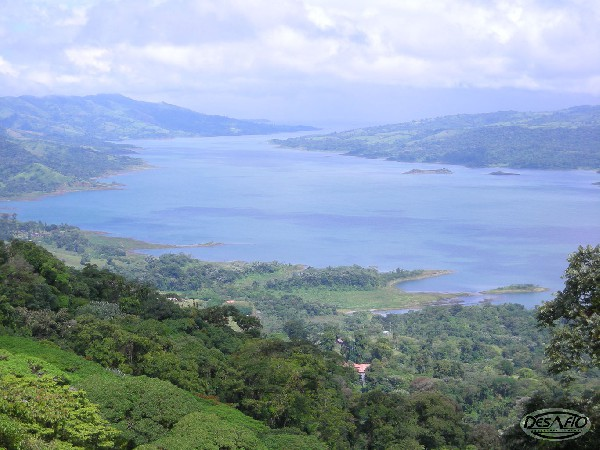 Get the best views of Lake Arenal from Sky Adventures zip lining.