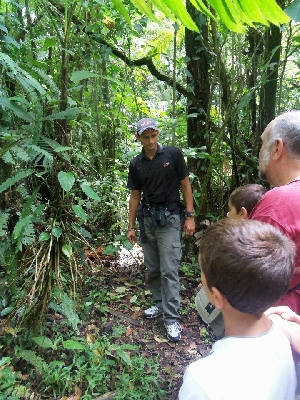 Informative hike to the Arenal Volcano with Desafio.