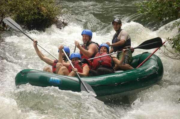Rafting on Rio Tenorio La Fortuna, Costa Rica.