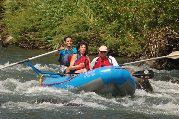 Safari Float on the Tenorio River in Costa Rica.