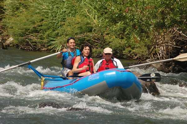 Safari Float on the Tenorio River in Costa Rica.