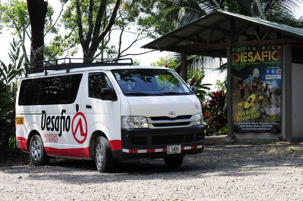 One of our Desafio vands equipped with optional air conditioning and free wifi.