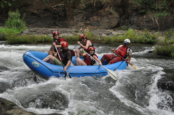 You will love rafting in Guanacaste with Desafio.