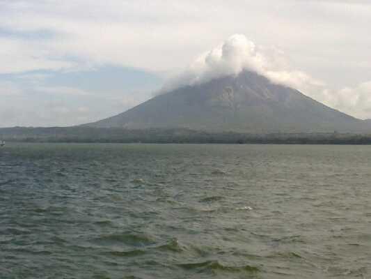 Ometepe Island, Concepcion Volcano!