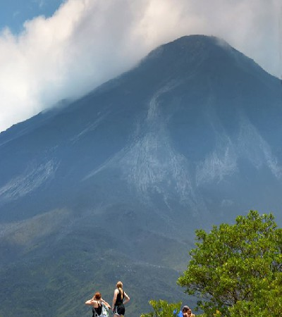 Arenal Volcano Natural History Guided Hike + Hot Springs + Dinner: