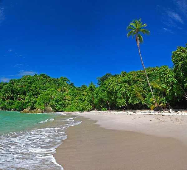 Manuel Antonio, home of Costa Rica's most-popular beautiful beache