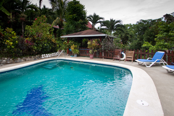 nullA perfect place to cool off is one of the two pools at Hotel Belvedere in Playa Samara. Desafio can help you plan the best vacation to Costa Rica!