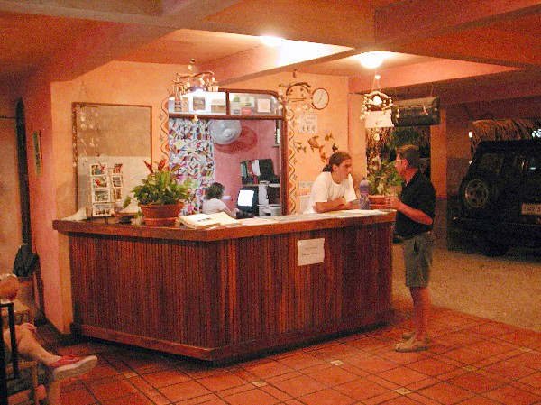 Entrance and Reception at Giada Hotel Playa Samara.