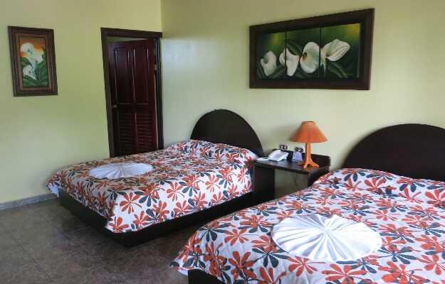 Comfortable rooms at affordable prices at La Pradera in La Fortuna, Arenal Costa Rica