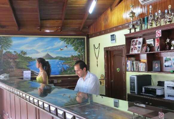 Friendly staff at La Pradera in La Fortuna, Arenal Costa Rica