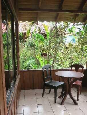 Private patios at affordable prices at La Pradera in La Fortuna, Arenal Costa Rica
