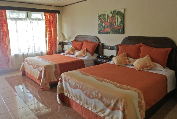Hotel Los Lagos features large comfortable rooms and is one of the best family hotels in Costa Rica. Desafio can help you plan your vacation to Costa Rica!