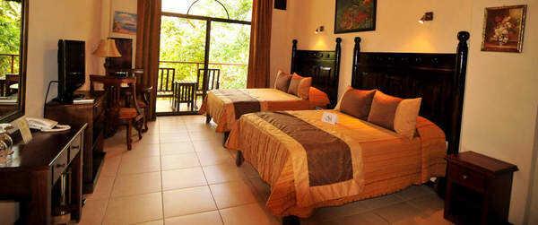Nice rooms at Hotel San Bada in Manuel Antonio.