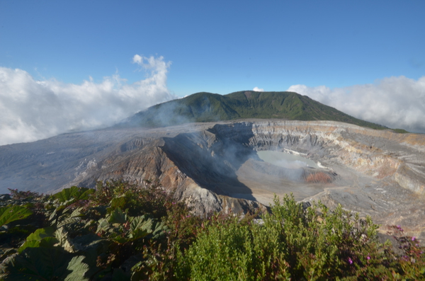 The Poas Volcano hike is just a short drive away from Hotel Villa Blanca, Costa Rica!