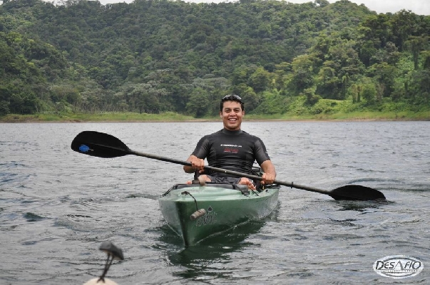 Kayak on the stunningly beautiful Lake Arenal!