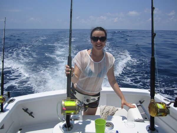 Deep sea fishing i