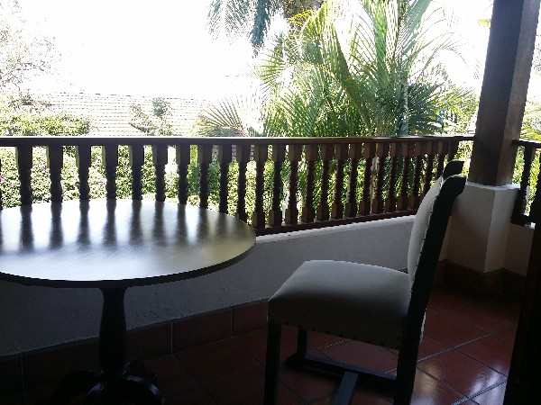 The private balcony. You will forget you are so close to downtown San Jose.