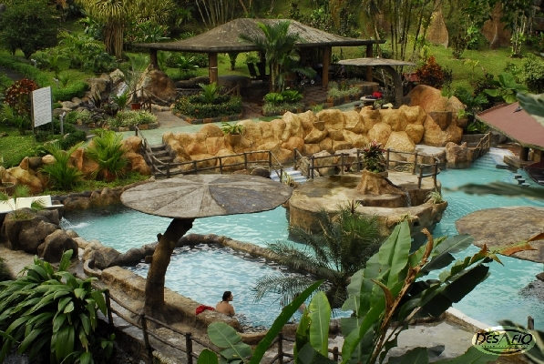 Enjoy, relax, and take in all the beauty with friendly, personalized service at this Arenal area hot springs location