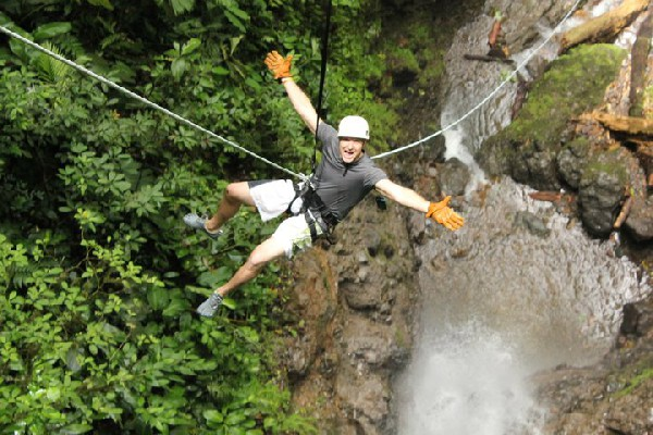 Combine the exciting Lost Canyon Adventures Canyoneering and rafting on the beautiful Río Balsa for a full-day of pure adrenaline