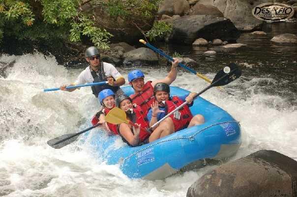 Monteverde to Samara Rafting on the Tenorio River
