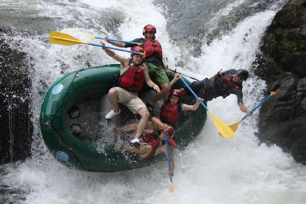 Adventure Connection with Rafting Class 3 and 4