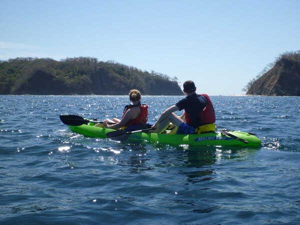 ocean kayak  to Chora island