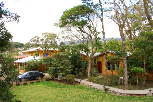 Private parking in a park like setting are just a few amenities at Monteverde Villa Lodge.
