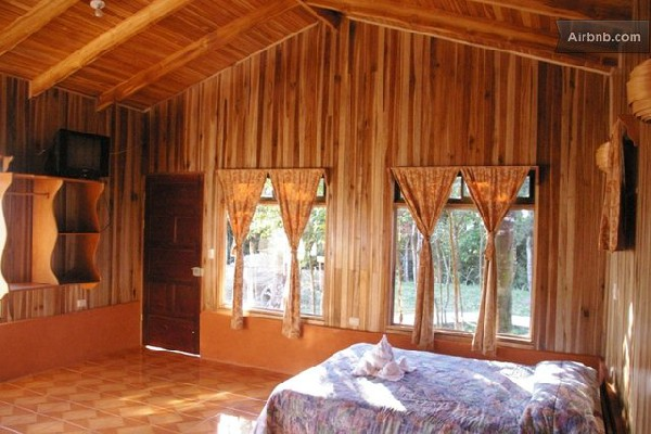 Spacious rooms and large windows are more perks of staying at Monteverde Villa Lodge.