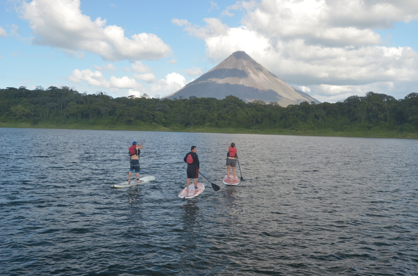 Stand Up Paddle in Arenal.