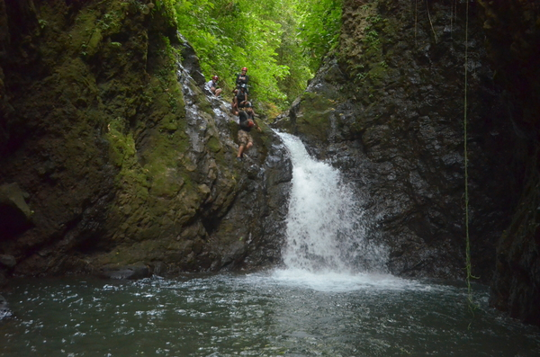 Costa Rica Most Extreme Tour Gravity Falls Waterfall Jumping!