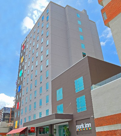 This colorful and modern hotel is located right downtown San Jose.