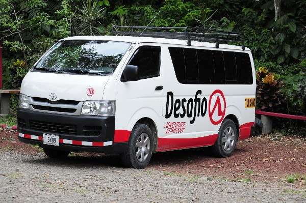 The best private transfer service Monteverde to Puntarenas and Caldera with Desafio transport