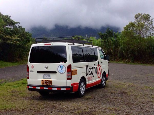 Desafio Transportation from Arenal to Hotel Riu
