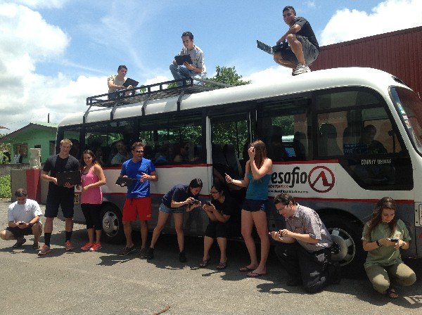 Desafio allows you to keep in touch with your friends with free WiFi on all of our tours and transportation in Costa Rica!